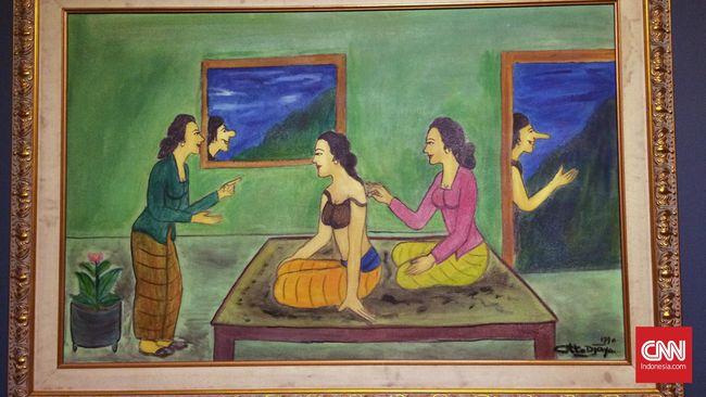 Otto Djaya, Pelukis yang Jenaka
