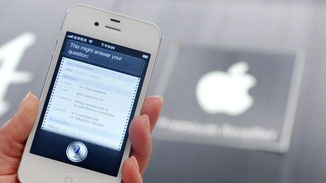 Apple Diduga Pakai Siri untuk 'Nguping' Ribuan Percakapan