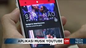 Youtube Musik Aplikasi Khusus untuk Para Pecinta Musik
