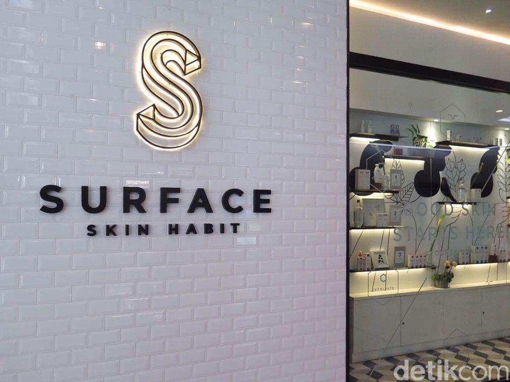 Mencoba Perawatan Mengecilkan Perut dalam 30 Menit di Surface Skin Habit