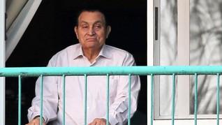 Terjerat Kasus Saham, Dua Putra Hosni Mubarak Ditangkap