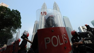 Polisi Malaysia Tangkap 7 Tersangka Anggota ISIS, Tiga WNI