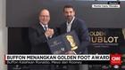 Buffon Jadi Kiper Pertama Raih Penghargaan Golden Foot
