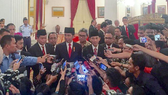 Jokowi Terbitkan Dua Keppres untuk Duetkan Jonan dan Arcandra