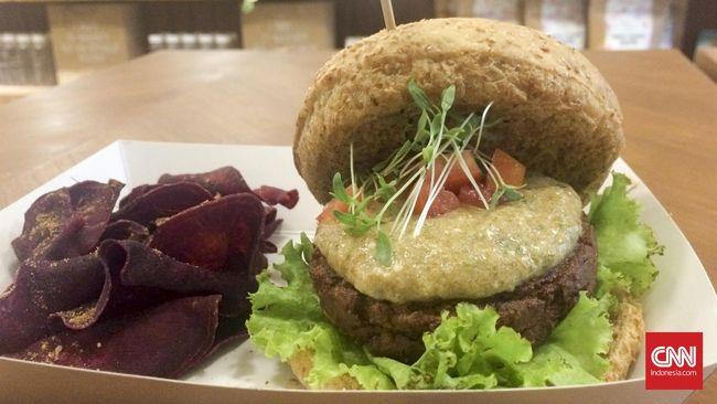 Burger Lezat Sehat untuk Para Vegetarian