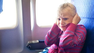 Maskapai Terapkan Penerbangan Bebas Jeritan Anak Kecil