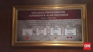 Pigura di Lantai 3 KPK dan Janji Jokowi