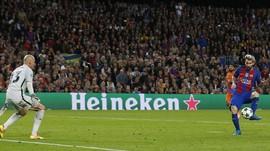 Kaki Kiri Messi yang Bikin Semuanya Terlihat Mudah