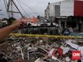 Material Ledakan di Bekasi Terhempas Hingga 100 Meter