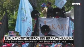 Pemprov DKI Jakarta Merapatkan NILAI UMP