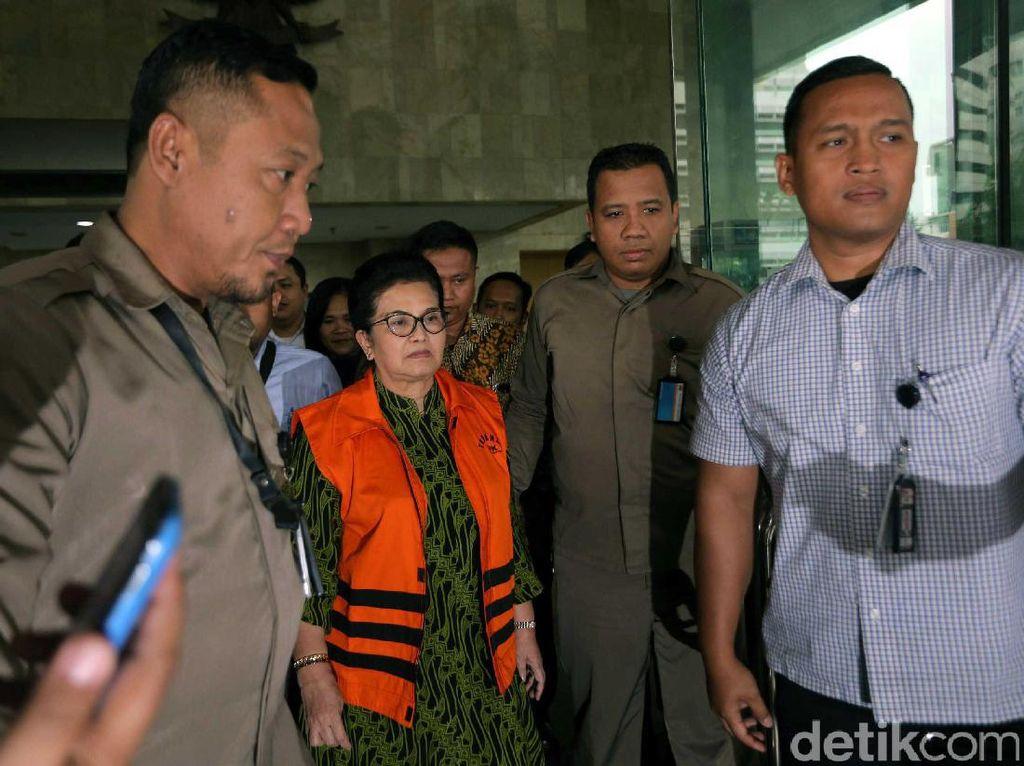 Dia akan ditahan di rumah tahanan (Rutan) Pondok Bambu, Jakarta Timur.