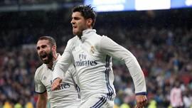 Bintang Real Madrid Bahagia Morata Gabung Atletico