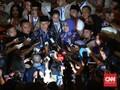AHY Minta Restu 149 Purnawirawan Jenderal 'Perang' di Jakarta