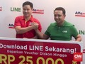 Alfamart Gandeng Line Gaet Generasi Millenial