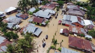Banjir Terjang Gorontalo, 4.987 Warga Mengungsi