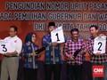 Kemeriahan Pengundian Nomor Urut Pilkada Jakarta
