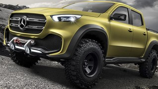 X-Class Jadi Debut Pick-up Double Cabin Mercedes-Benz