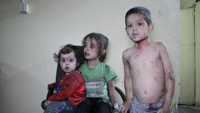 PBB Serukan Serangan Terhadap Anak-anak Diakhiri