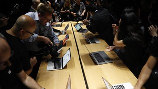 MacBook Pro Bantu Apple Salip Asus di Bisnis Notebook