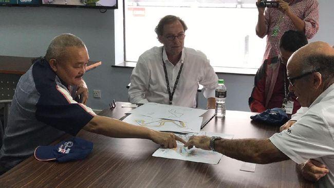 CEO Dorna Setuju Rancangan Sirkuit MotoGP di Palembang