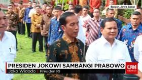 Jokowi Bertemu Prabowo