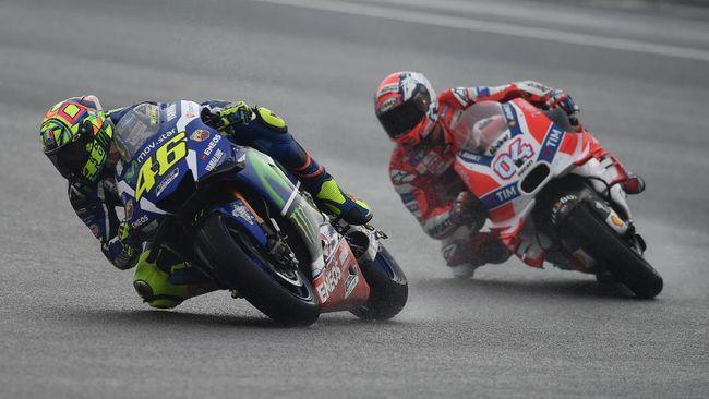 Dovizioso: Sulit untuk Jadi Teman Dekat Valentino Rossi