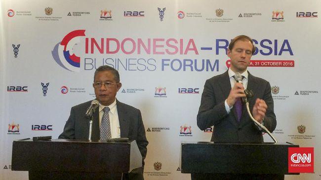 Kejar Target Dagang, Indonesia Minta Rusia Buka Akses Pasar