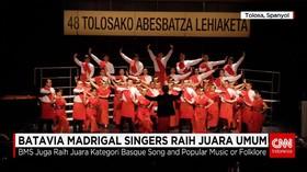 Batavia Madrigal Singers Berjaya di Spanyol