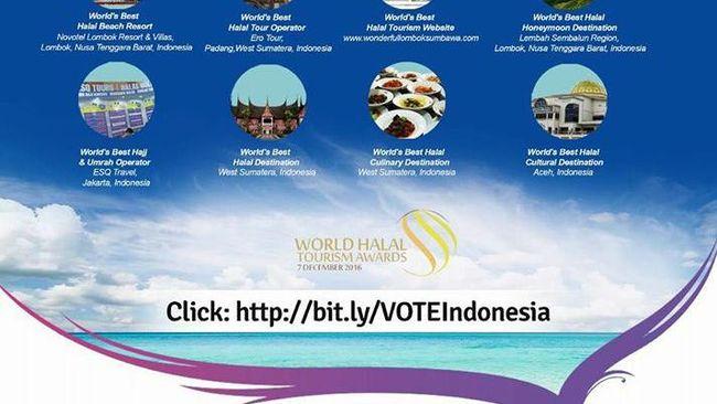 Gerakan Vote World Halal Tourism Award 2016 Semakin Menggema