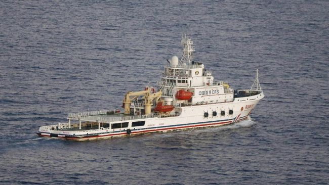 Pertama Kalinya, Korsel Tembak Kapal Pukat China
