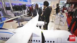 Pesawat Buatan Indonesia Melayang di Langit Himalaya