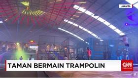 Olahraga Sambil Bermain di Trampoline Park