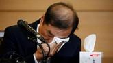 Dalam sepekan terakhir, Park merombak sejumlah menterinya, termasuk menunjuk tokoh bagi sebagai perdana menteri Korsel, Kim Byong-joon.(Reuters/Kim Hong-Ji)