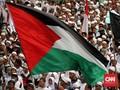 Kedubes Palestina Sesalkan Pengibaran Benderanya dalam Demo
