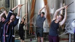 Warga Texas 'Tersihir' Yoga Harry Potter