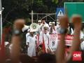 Polisi Periksa Rombongan Mobil Demo saat Ahmad Dhani Berorasi