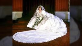 Diana 'Bolak-balik' Butik 15 Kali Demi Gaun Pengantin Ikonik
