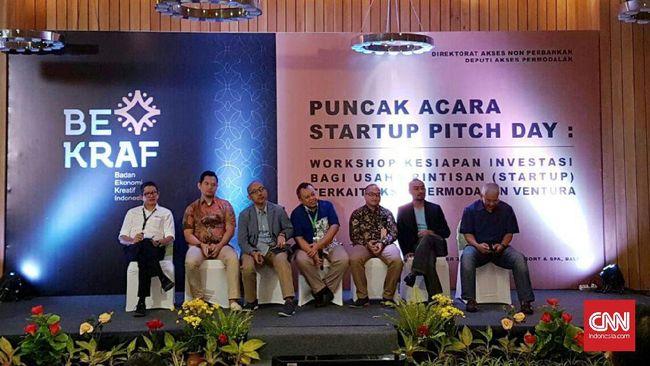 Bekraf: Startup Indonesia Bukan Sekedar Butuh Dana