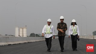 Jokowi Janjikan Banyak Infrastruktur Rampung Sebelum Pilpres