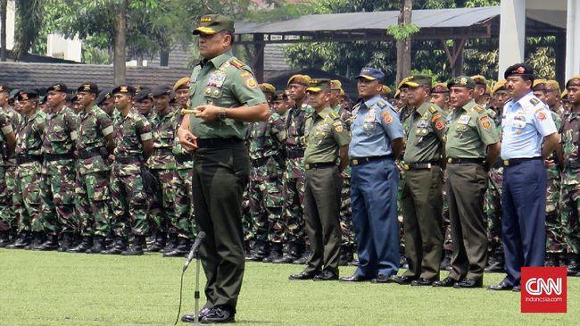Dituduh Makar, Jenderal Gatot Sebut Hoax dan 'Orang Gila'