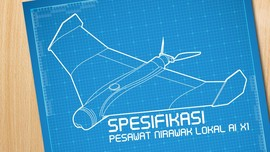Spesifikasi Pesawat Nirawak Lokal Ai-X1