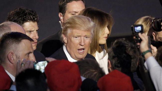 Minus Artis Papan Atas, Inagurasi Trump Dibuat 'Puitis'