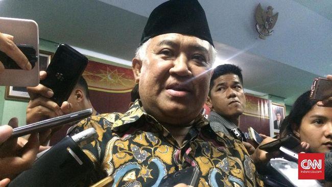 Din Syamsuddin Minta Hati-hati Mengatasnamakan Umat Islam