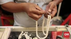 Perhiasan Mutiara Masih Kalah Pamor Dibanding Emas