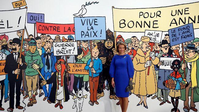 Tintin 'Rayakan' Ultah ke-90 dengan Kontroversi
