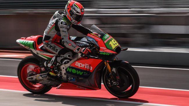 Aprilia Merah Darah di MotoGP Valencia