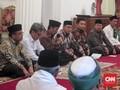 Lesehan di Istana, Jokowi Kumpulkan Kiai Banten