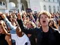 Ribuan Siswa di AS Bolos, Gelar Protes Anti-Trump
