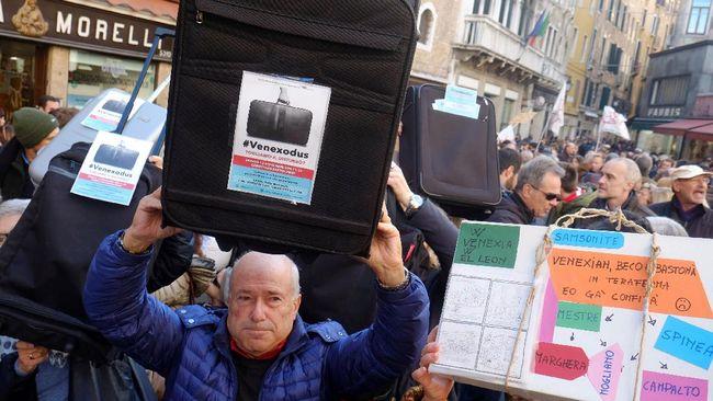 Penduduk Venesia 'Dihantui' Puluhan Juta Wisman