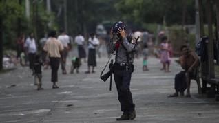 Bentrokan di Rakhine, Tentara Myanmar Tewaskan 13 Pemberontak